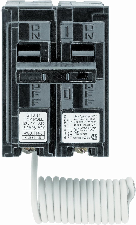 Siemens Q12000s01 120 Volt Type Mp T 20 Amp Circuit Breaker With 120 Volt Shunt Trip Single Pole Ground Fault Circuit Interrupters Amazon Com