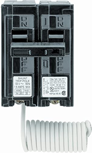 Siemens Q12000S01 120-Volt type MP-T 20-Amp Circuit Breaker with 120-Volt Shunt Trip Single pole