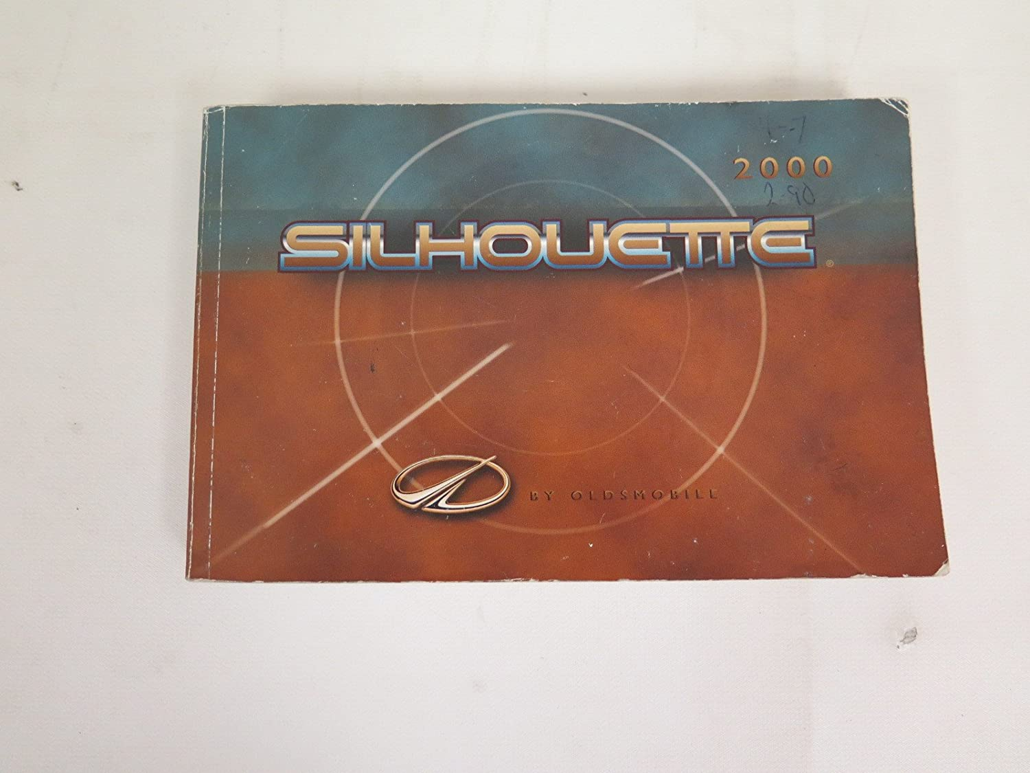 Amazon.com: 2000 Oldsmobile Silhouette owners manual: Oldsmobile: Car  Electronics