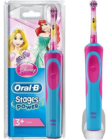 Oral-B Stages Power Kids - Cepillo de dientes eléctrico de las princesas Disney