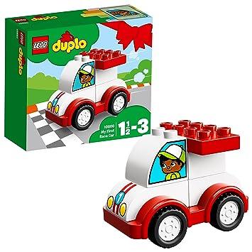 Lego DUPLO - Ma première voiture de course - 10860 - Jeu de ...
