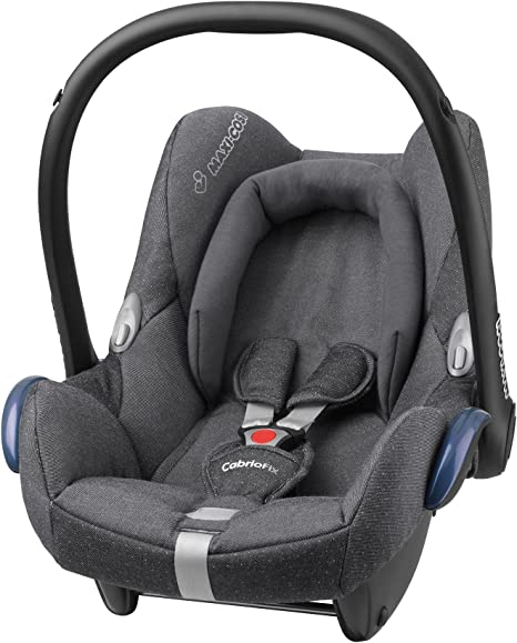 Maxi-Cosi CabrioFix, Silla de coche grupo 0+, gris (Sparkling Grey ...