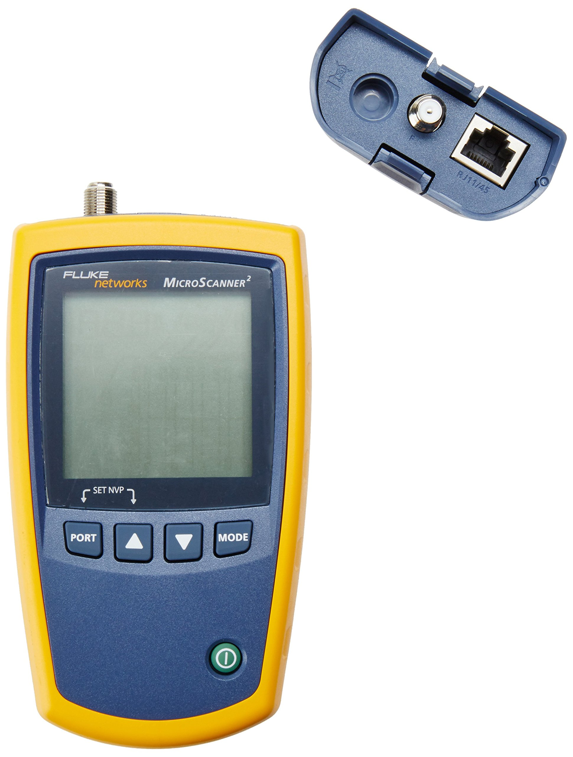 Fluke Networks MS2-TTK MicroScanner2 Network Cable Tester Kit with Punch Down Tool and Tone Generator and Probe by Fluke Networks (Image #2)