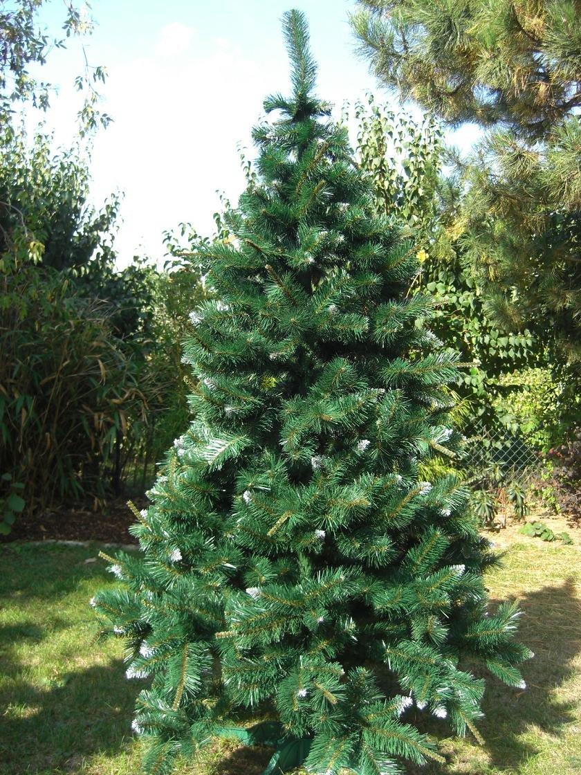 Tannenbaum Kunststoff.180cm Tanne Kunststoff Christbaum Tannenbaum Weihnachtsbaum