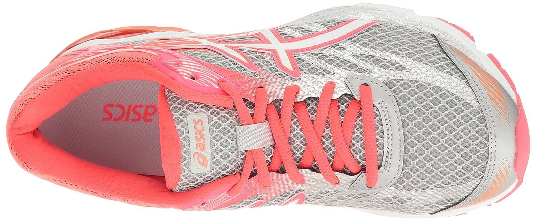 ASICS Women's Gel-Flux 4 Running Shoe B01GUA1O7G 8 B(M) US|Mid Grey/White/Diva Pink
