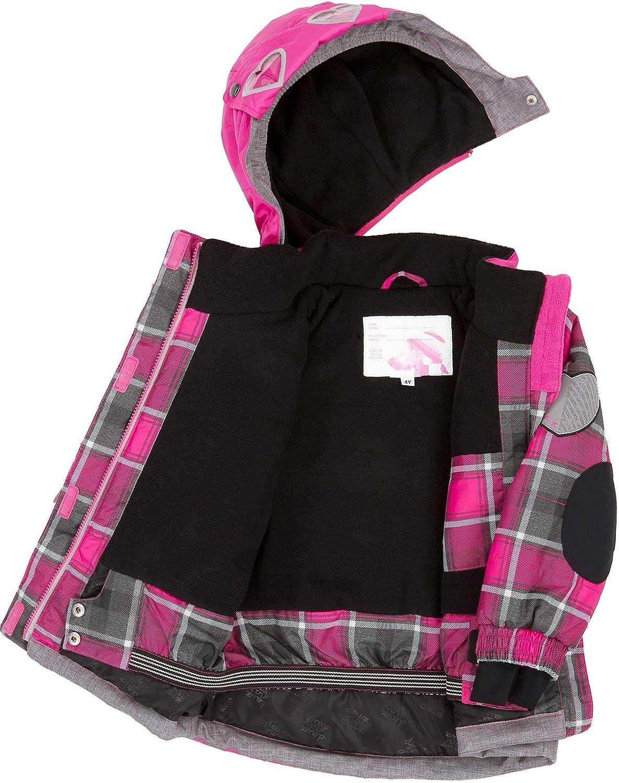 Deux par Deux Girls/' 2-Piece Snowsuit Fall in Love Fuchsia Sizes 5-14
