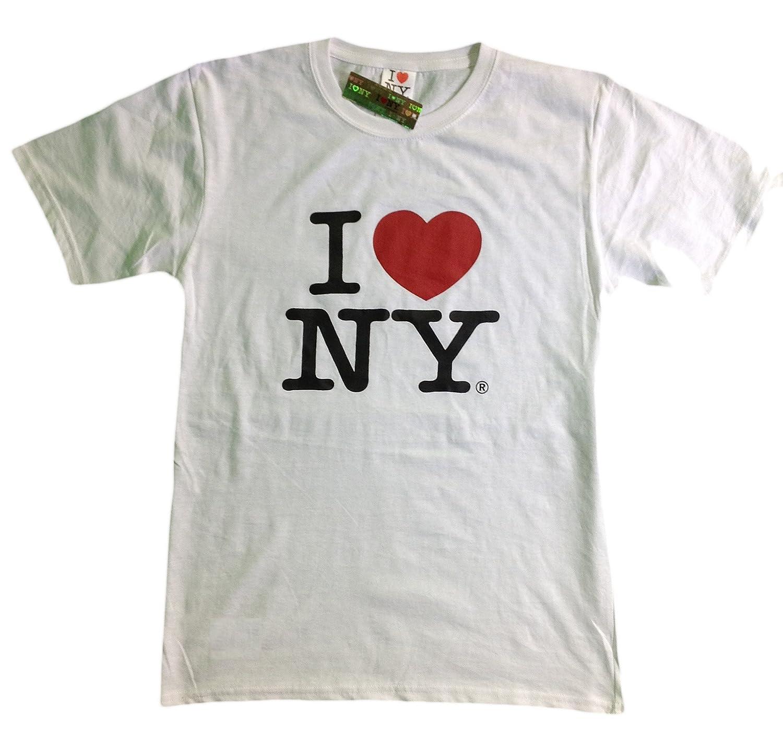 Amazon i love ny new york short sleeve screen print heart t amazon i love ny new york short sleeve screen print heart t shirt white clothing altavistaventures Gallery