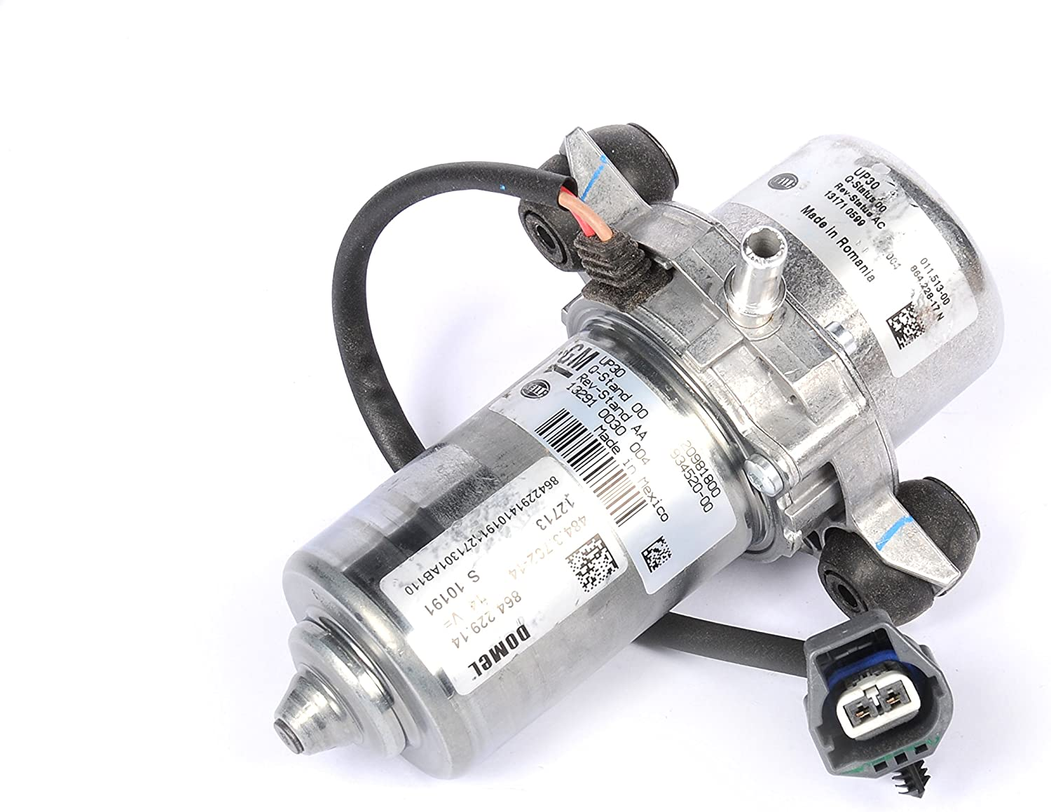 Electric Vacuum Pump Power Brake Booster Auxiliary Pump UP30 GM Original Equipme