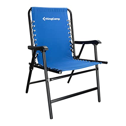 Genial KingCamp Camping Chair Folding Lawn Sports Suspension Backrest Chair Patio  Lounge Backyard Chair Fishing Chair,