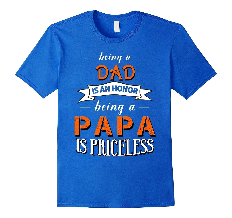 61180470c Dad Papa shirts-TD – Teedep