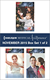 Harlequin Medical Romance November 2015 - Box Set 1 of 2: A Touch of Christmas Magic\Winter Wedding in Vegas\A December to Remember (Midwives On-Call at Christmas)