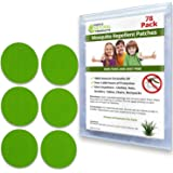 Simple Natural Products Mosquito Repellent Patch by (78 Pack) Insect Repellent for Kids and Adults - Better Than Lotion Spray or Wipes - Travel Mosquito Repellent Patches - Natural and Deet Free
