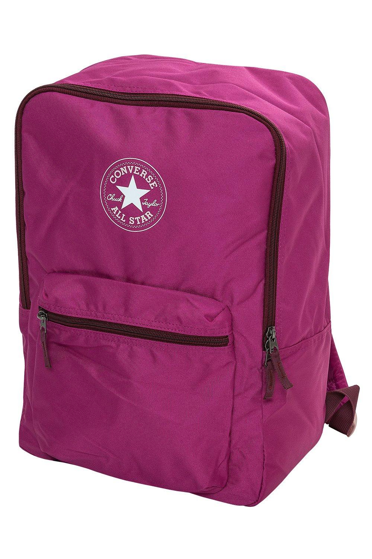 Converse Mochila horizontal cremallera mochila 410933 (un tamaño, rosa Sapphire 688): Amazon.es: Equipaje