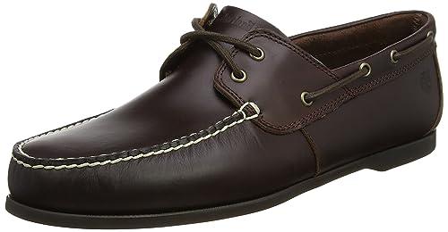 timberland bootsschuh dark brown