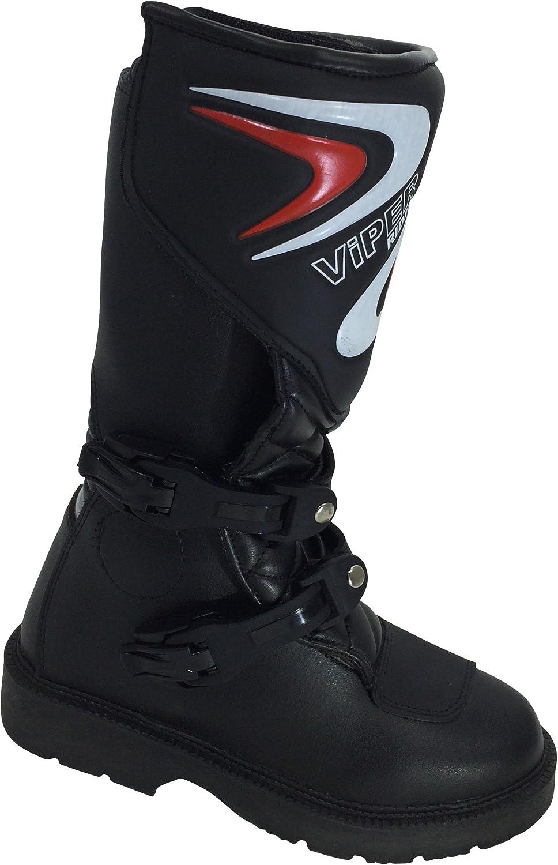 Viper Rider A123/Moto K156/Kids MX Bateau Black 34//1