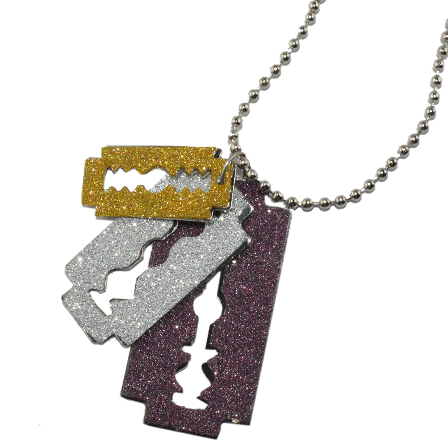 Infinxt stylish blade locket with chain for man boys amazon infinxt stylish glitter blade locket with chain for man boys thecheapjerseys Choice Image