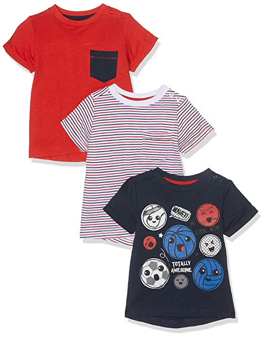 2476d5cc2d0e1 Mothercare Boy s Totally Awesome T-Shirts - 3 Pack T - Shirt