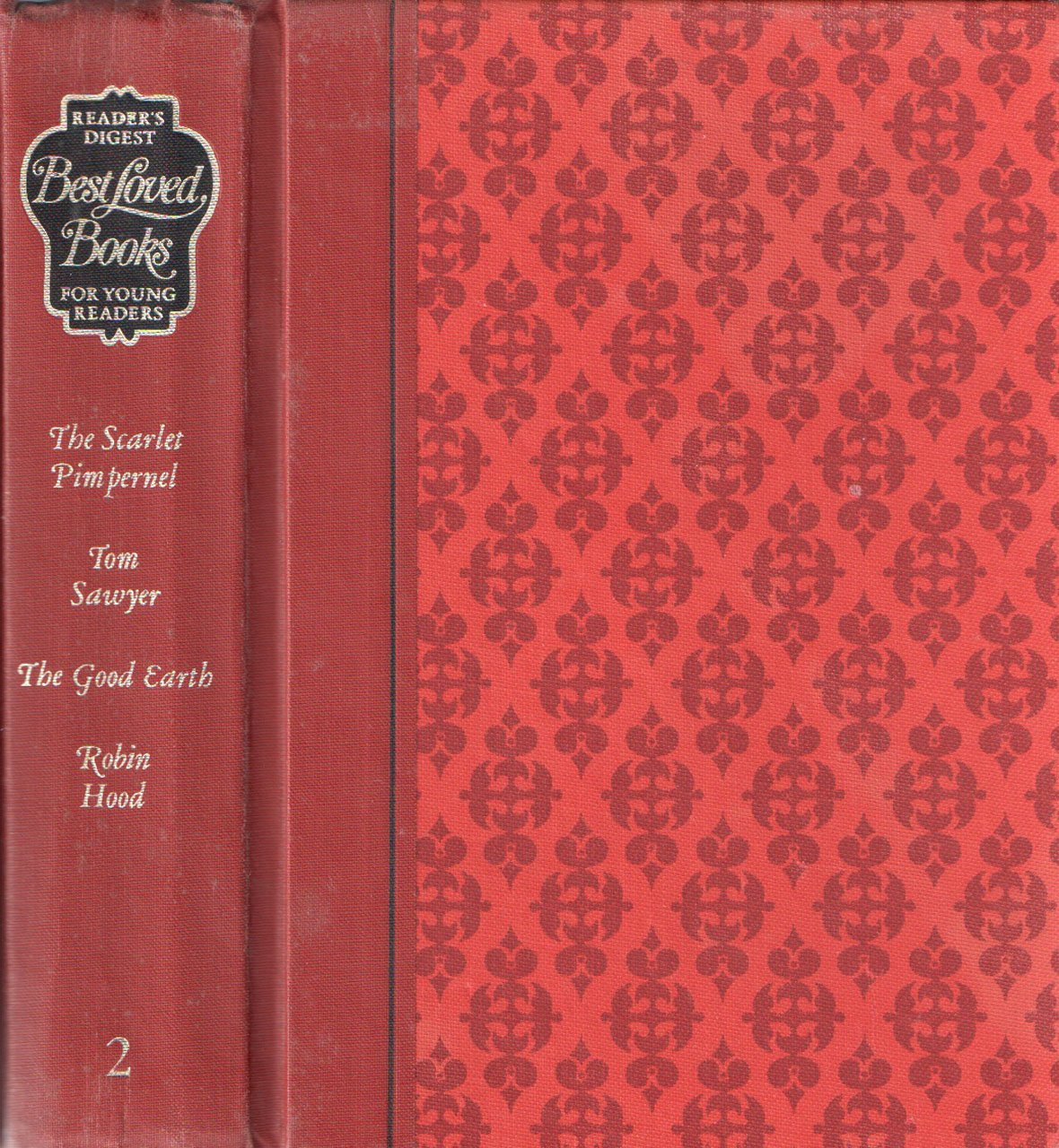 Reader S Digest Best Loved Books For Young Readers The Scarlet Pimpernel Tom Sawyer The Good Earth Robin Hood Volume 2 Reader S Digest Amazon Com Books Are old readers digest books worth any