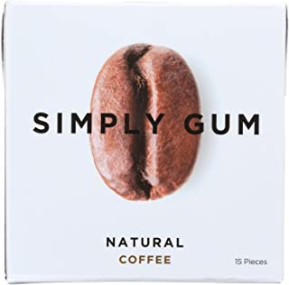 product image for Simply Gum All Natural Gum - Coffee - Pack of 12 - 15 Count