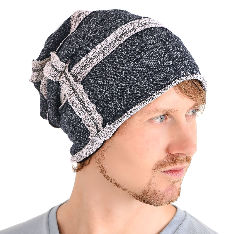 a023c1b7 Casualbox All Season Slouch Beanie Hat Mens Womens Slouchy Baggy Beanie  Cotton Black: Amazon.ca: Clothing & Accessories
