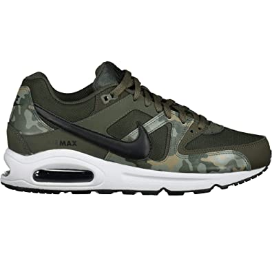 pretty nice 8e575 7d668 Nike Air Max Command, Sneakers Basses Homme, Multicolore  (Sequoia Black White