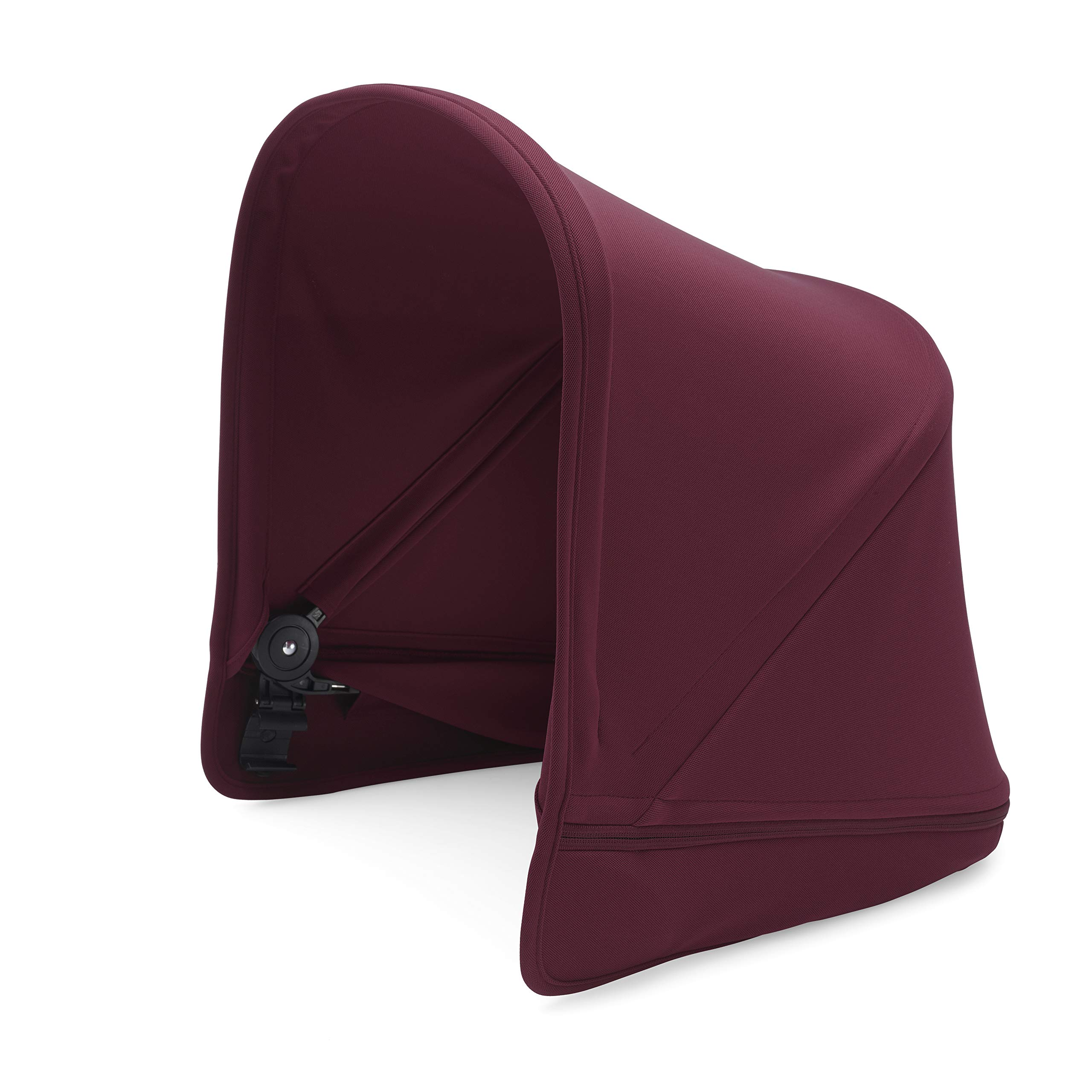 Bugaboo Donkey2 Sun Canopy, Ruby Red - Extendable Sun Shade for Full Weather Protection, Machine Washable