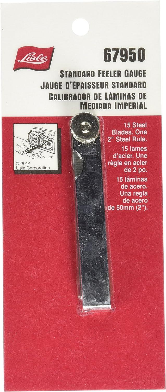 LISLE 67950 Standard Feeler Gauge