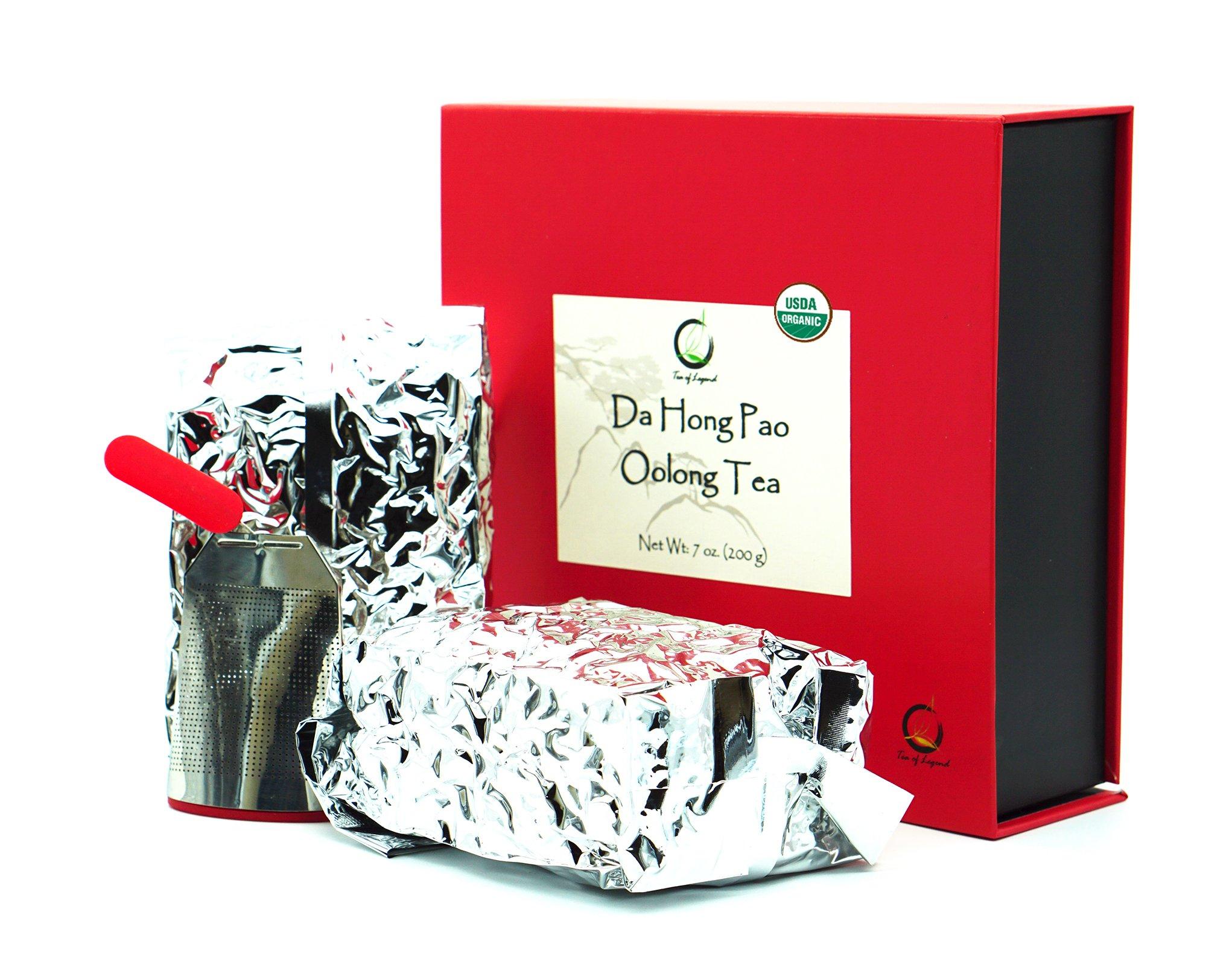 Premium Da Hong Pao Oolong Tea Gift Set
