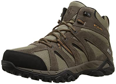 Columbia Men s Grand Canyon MID Outdry Hiking Shoe Pebble 8da8eceaaaf