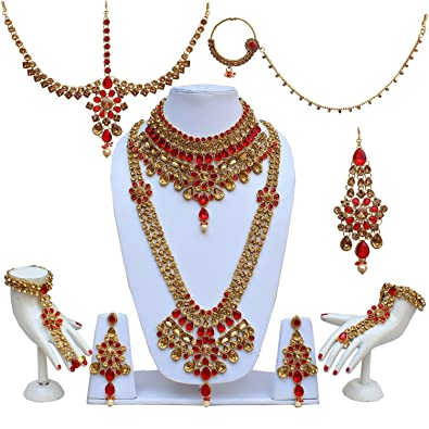 jewellery earring fashion rhinestone plated product for party multicolour gold dubai wedding jewelry accessories set prom necklace bridal
