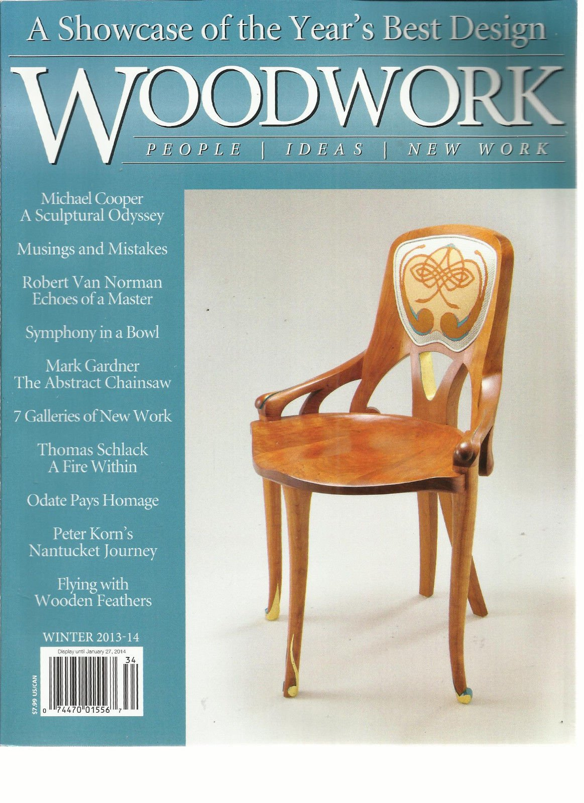 WOOD WORK, WINTER, 2013/14 (A SHOW CASE OF THE YEAR'S BEST DESIGN)