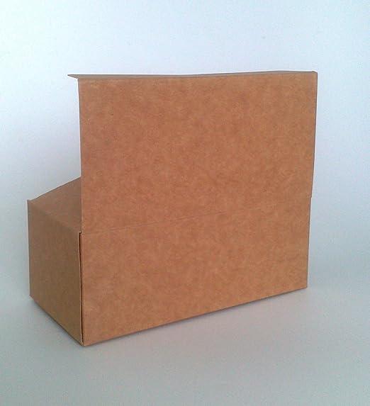 Paquete de 3 Cajas De Regalo Pequeña (código #a) Cartulina Flat Pack Asamblea Del Uno Mismo caja de regalo conveniente para Chocolates, Joyería, ...