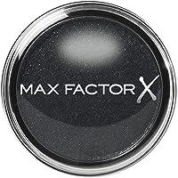 Max Factor Wild Shadow Pot Ferocious Black 10 - zwarte poederoogschaduw met glinsterende afwerking - voor intensieve…