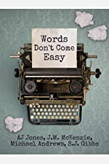 Words Don't Come Easy Kindle Edition