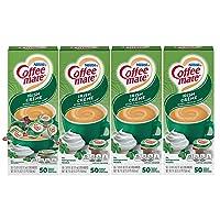 Nestle Coffee mate Coffee Creamer, Irish Creme, Liquid Creamer Singles, Box of 50 Singles (Pack of 4)