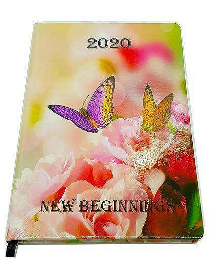EJRange 2020 - Agenda semanal (tamaño A5), diseño con texto ...