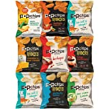 Popchips Potato Chips and Ridges, Mixed Variety Sampler, Different Flavors, 0.8 Ounce Bags by Variety Fun (9 Count)