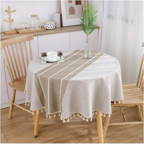 Table Cloth Nuevo Pequeño Ronda Mantel, algodón Japonés Y Mantel ...