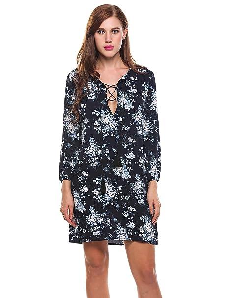 7a6fb2cd276e7 Loveje Plus Size 3 4 Sleeve Dress Women Round Neck Short Sleeve ...