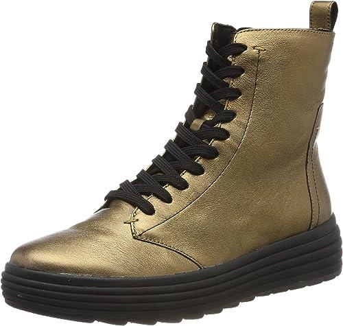 acre buffet Obediente  Geox Women's D Phaolae a Biker Boots: Amazon.co.uk: Shoes & Bags