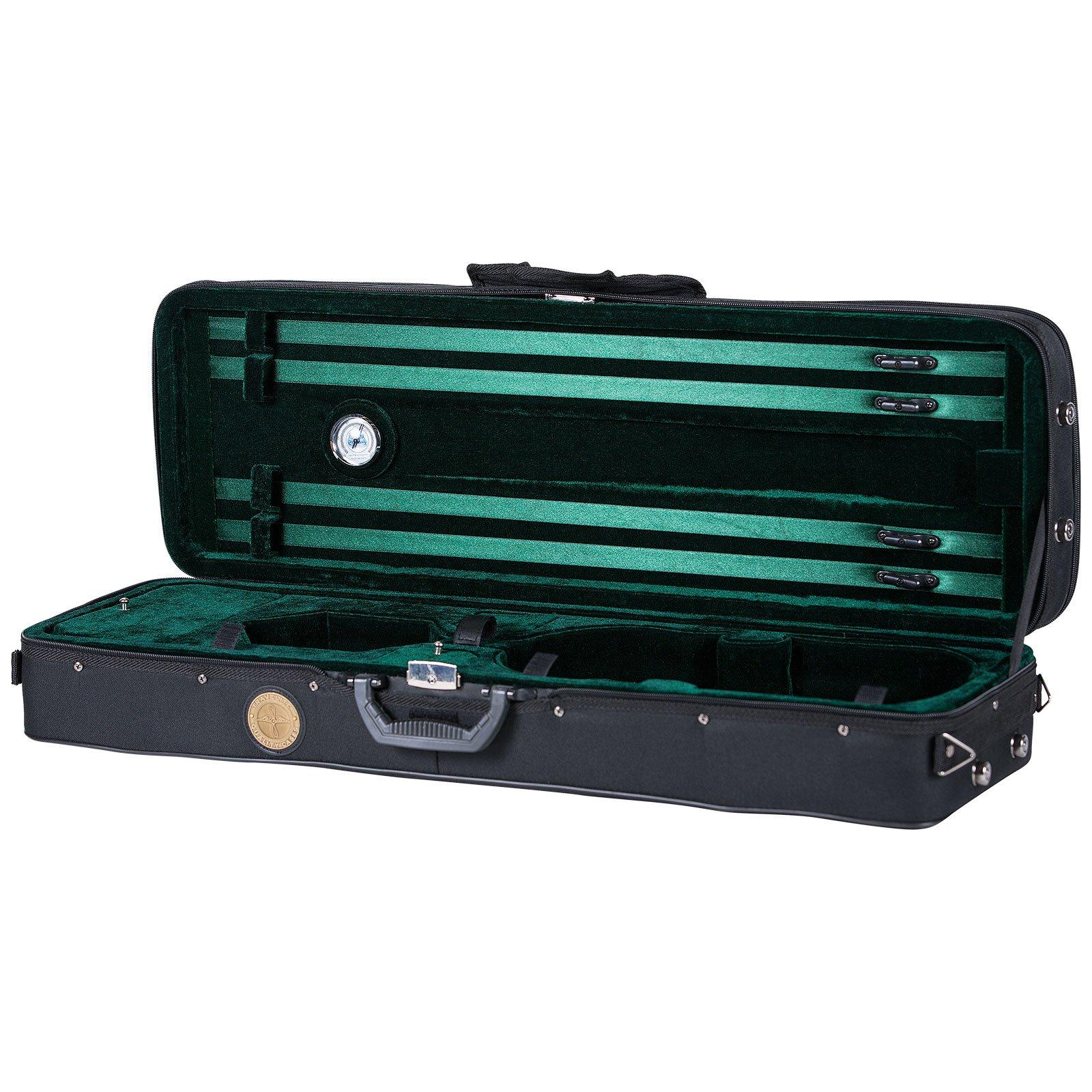 Travelite TL-35 Deluxe Violin Case - Oblong - 3/4 Size