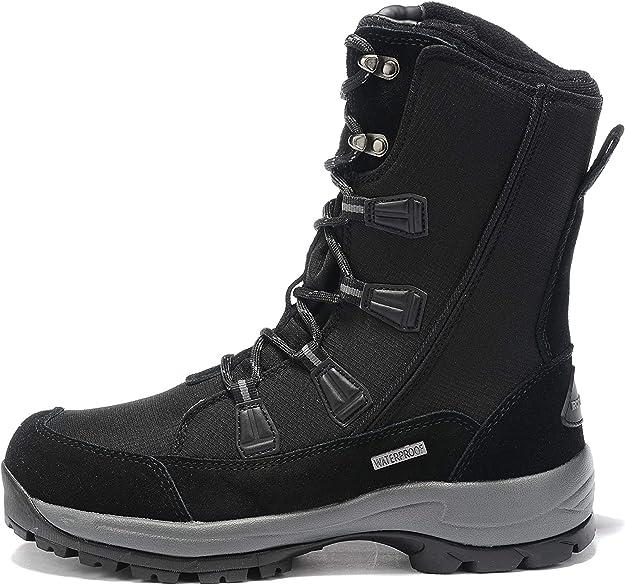 ROCKMARK Women's Waterproof Snow Boots