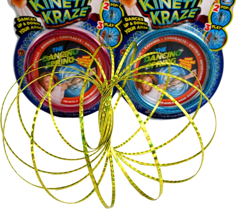 JA-RU Flow Kinetic Ring Pack of 12 ToroFun Game or Arm Slinky Item #785-12 Jaru