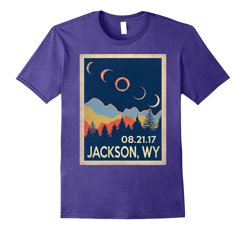 jackson Wyoming Solar Eclipse 2017 tshirt-BN