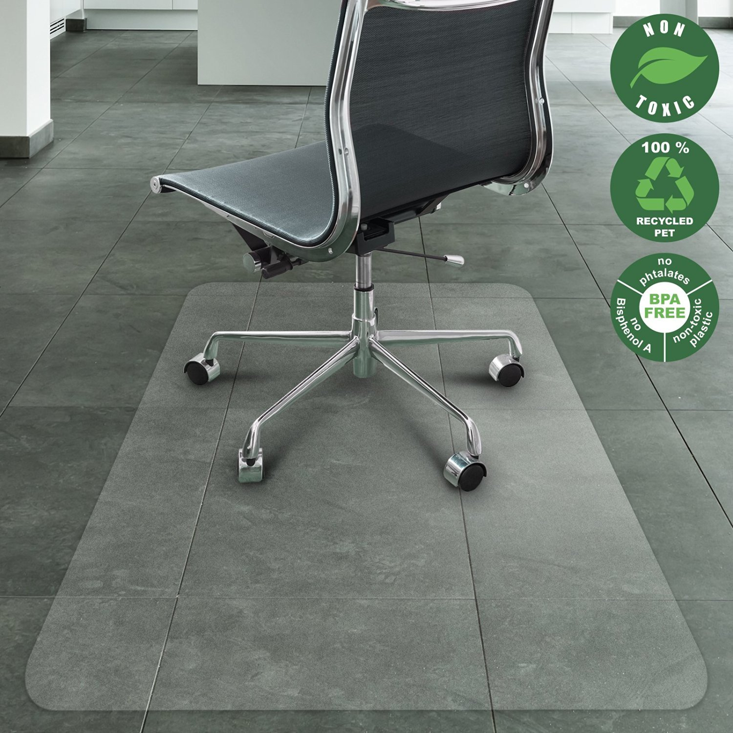 High Quality Office Marshal Chair Mat For Hard Floors | Eco Friendly Series Chair Floor  Protector |