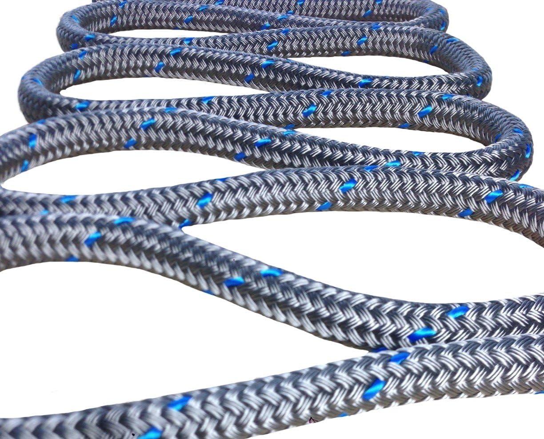 Festmacher 18mm Silber mit Blauer Kennung Hochleistungs