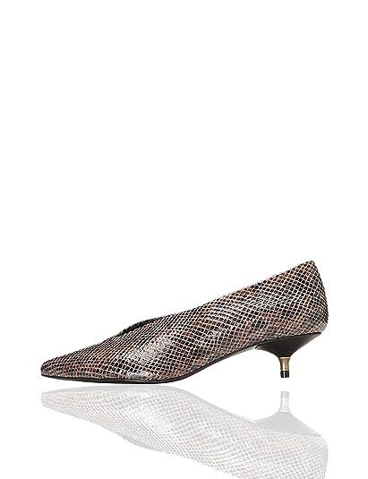 99287d1c find. Zapatos de Piel con Tacón Kitten Mujer