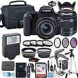 Canon EOS Rebel SL3 DSLR Camera Bundle with Canon EF-S 18-55mm STM Lens + 32GB Sandisk Memory + Camera Case + Digital…