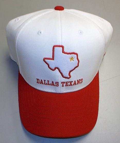 ff5f745fd63 Amazon.com   Dallas Texans Flex 50 Anniversary Reebok Hat Size L XL ...