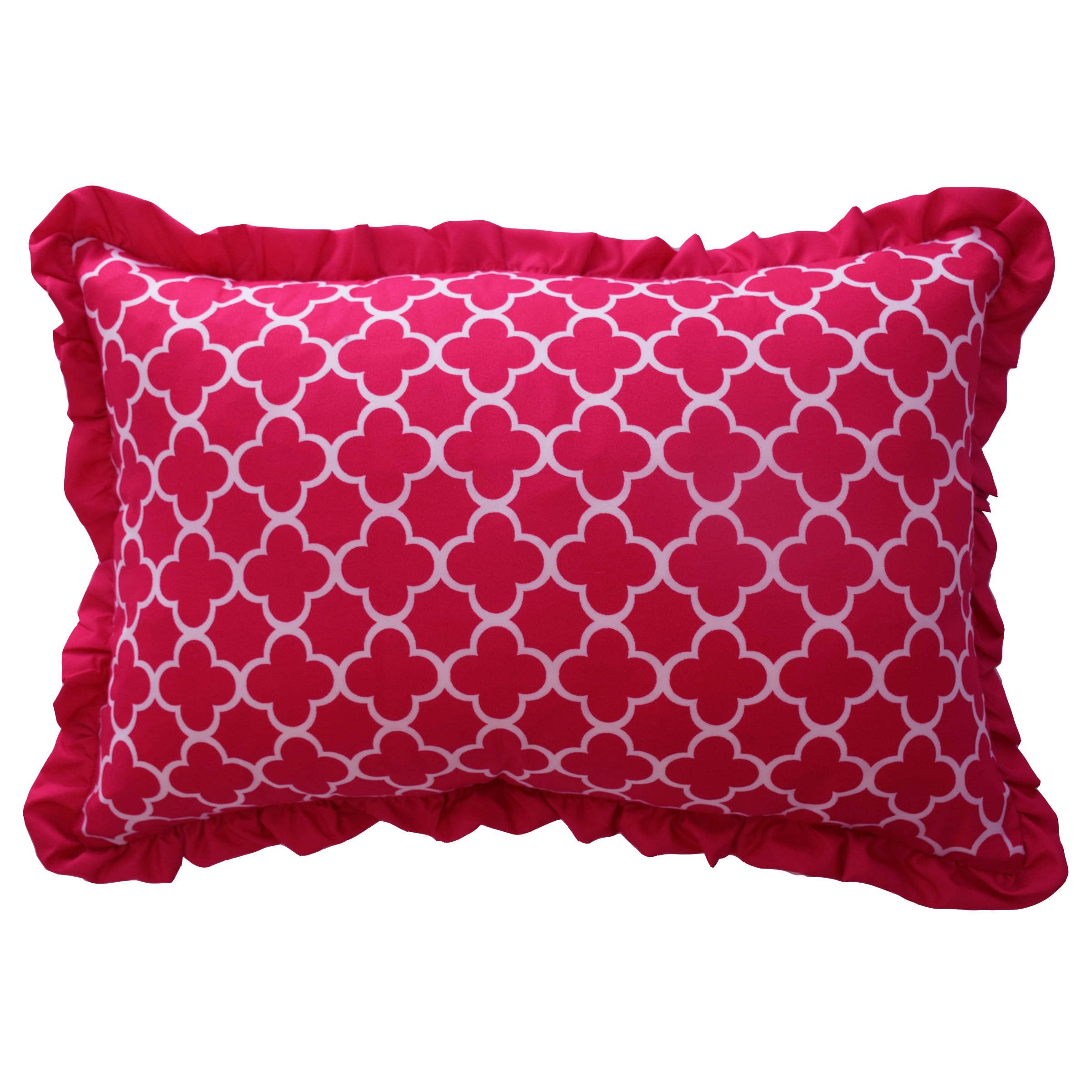 WAVERLY Kids Reverie Decorative Pillow, 12'' x 18'', Pink by WAVERLY
